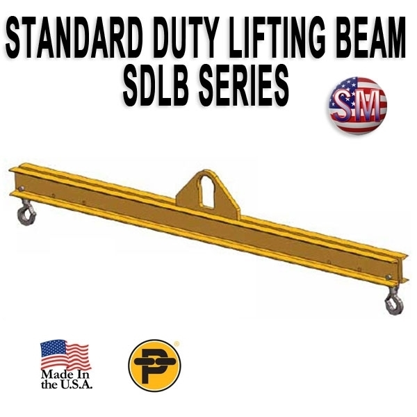 Picture of Channel Lifting Beam - 8 ft. with 25 Ton Capacity - Standard Duty  - SDLB- 25-8