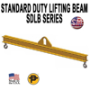 Picture of Channel Lifting Beam - 4ft. with 7.5 Ton Capacity - Standard Duty  - SDLB- 7.5-4
