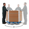 Picture of Option-Loops/Handles-Alum Pallet Dolly