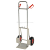 Folding dolly with Pneumatic wheels. Nose plate folds up to save space. #: DHHT-250A-FD-PNF
