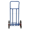 Stair dolly climbs staiirs with 3 wheels on each side. Easily rolls up and down stairs, ST-TRUCK-300