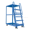 High Frame Cart 28 X 52 Mold-On-Rubber casters, part #: SPS-HF-2852