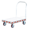 Heavy Duty Aluminum Treadplate Platform Truck Measures 24X36 Part #: ATP-C-2436