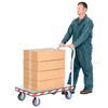Heavy Duty Aluminum Treadplate Platform Truck Measures 24X36 Part #: ATP-C-2436 illustration