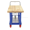 Work-Height Platform Truck 30X60 Wood Top. Has a 2000 lb. capacity. Deck height is; Part #: WHPT-3060-WT