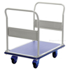 "Platform Cart with Front and Rear Handles and Foot Brake, Deck size: 24"" X 29"""