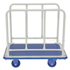 """Platform Cart with Front and Rear Handles and Foot Brake, Deck size: 24"""" X 36"""