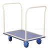 "Steel cart, Side mesh. Deck size: 23"" X 34"" Part #: TRS-2334-M"