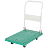 "Plastic Platform Truck with Folding Handle - 21""W X 33""L, Part #: FPT-2133"
