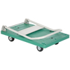 "Plastic Platform Truck with Folding Handle - 21""W X 33""L, Part #: FPT-2133 folded"
