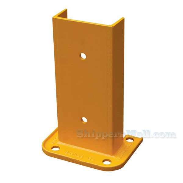 Structural Rack Guards without Rubber Bumpersq