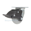 Thermoplatic Rubber (Duratek) Casters with total brake CST-F34-4X2DK-SWTB1 a