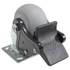 Thermoplatic Rubber (Duratek) Casters with total brake CST-F34-4X2DK-SWTB1 b