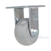 Thermoplatic Rubber (Duratek) Casters rigid model: CST-F34-4X2DK-R