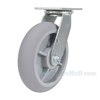 Thermoplatic Rubber (Duratek) Casters Swivel model: CST-F34-8X2DK-S