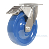 Polyurethane (Solid) Casters with stainless steel rigging CST-F-SS-8X2SP-SWTB a