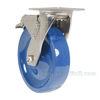 Polyurethane (Solid) Casters with stainless steel rigging CST-F-SS-8X2SP-SWTB b