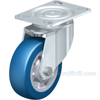 German made Industrial Caster, high quality non-marking polyurethane-elastomer (blue), Model; CST-ALH-6X2BESO-S