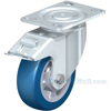 German made Industrial Caster, high quality non-marking polyurethane-elastomer (blue), Model; CST-ALH-6X2BESO-SWTB