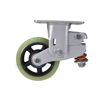 Industrial Caster, spring loaded towing casters, Model; CST-G80-PU-GRP