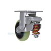 Industrial Caster, spring loaded towing casters, Model; CST-G80-6X2PU-R
