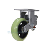 Industrial Caster, spring loaded towing casters, Model; CST-G80-6X2PU-R a