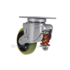 Industrial Caster, spring loaded towing casters, Model; CST-G80-6X2PU-S