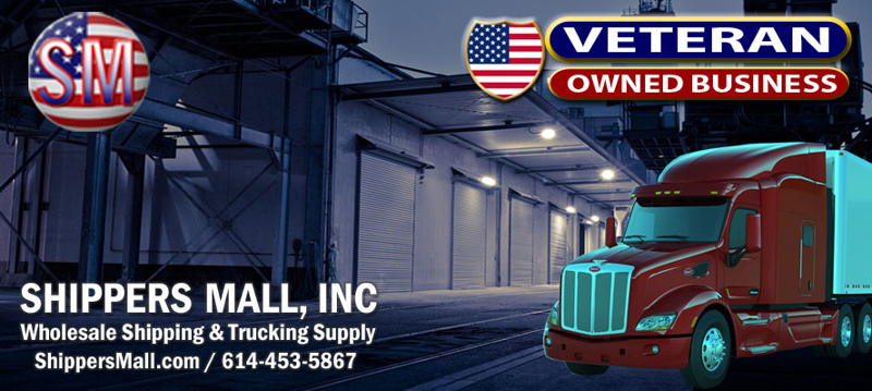 Shippers Mall Wholesale Shipping and Trucking Supplies Veteran Owned.