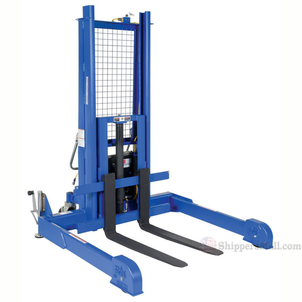 """Pallet Master, Server - 115V 1 phase power with a push-button hand control, Forks (WXL): 4""""x36"""", Lift Height: 50"""", Capacity lbs.: 4000, Weight: 1081"""