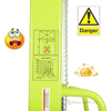 """Manual Hydraulic Hand Pump Stacker with Adjustable Forks & Legs raises up to 79"""" with 2K lb capacity. VHPS-2000-AA"""