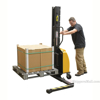 Narrow Mast Stacker with Power Lift and adjustable legs. SLNM-63-AA f