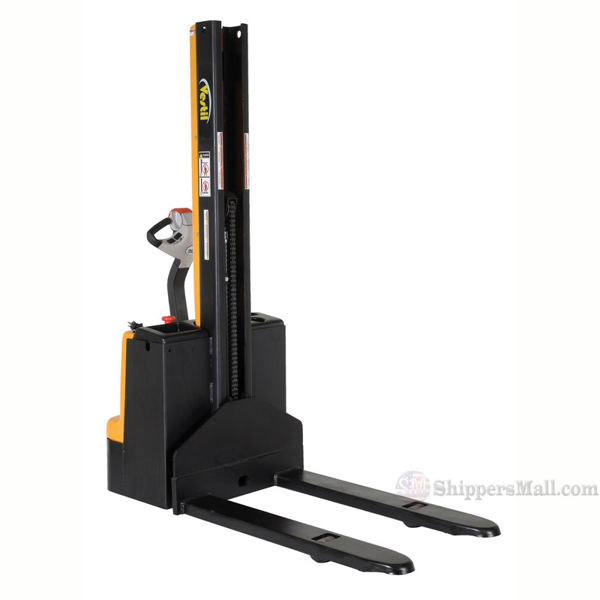 Stacker Narrow Mast Pwr Drive, Fixed Forks/Legs., SNM15-62-FF-27