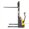 """Narrow Mast Stacker with Powered Drive and Powered Lift 62"""" High, 2200 lb., Cap., 27"""" Forks d"""