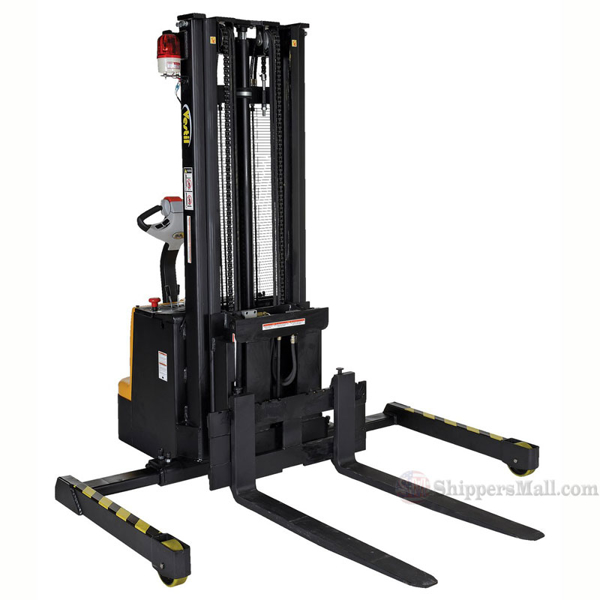 Powered Stacker with Power Drive, Power Lift, and Power Fork Reach P/N: S-118-AA-FR