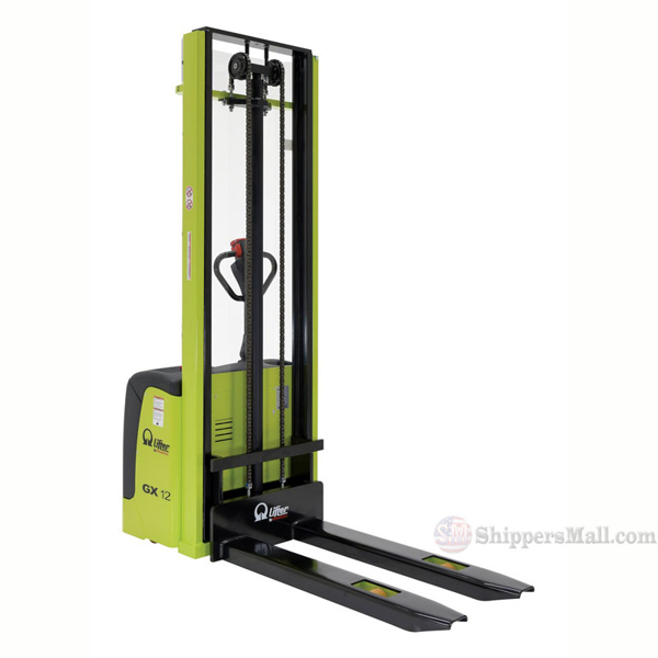 "Manual & Electric Stackers (Pramac) with 137"" Fork Height - PMC-S-FF-137"