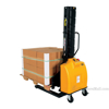 Narrow Mast Semi-Electric Stacker with Fixed Fork, 1500 lb. Capacity - SLNM15-63-FF f