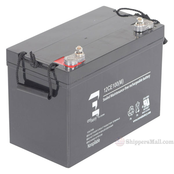 AGM Battery Upgrade for Model SL Series Stackers