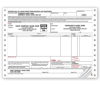 Bills Of Lading, Continuous, Small Format -  3 Ply - DF13862-3